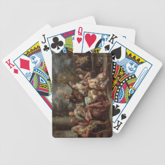 A Musical Interlude on a Patio (pair with 59639) Bicycle Playing Cards
