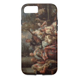 A Musical Interlude on a Patio (pair with 59639) iPhone 7 Case