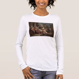 A Musical Interlude on a Patio (pair with 59639) Long Sleeve T-Shirt
