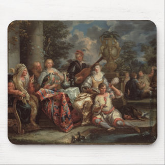A Musical Interlude on a Patio (pair with 59639) Mouse Pad