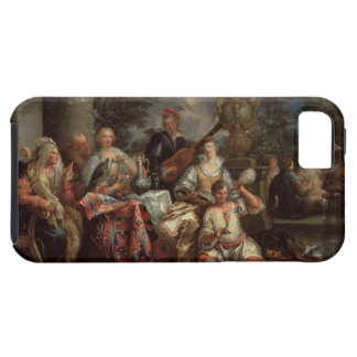 A Musical Interlude on a Patio (pair with 59639) Tough iPhone 5 Case