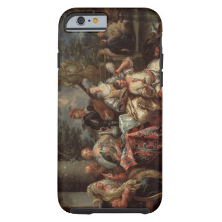 A Musical Interlude on a Patio (pair with 59639) Tough iPhone 6 Case
