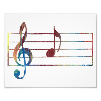 A musical note photo
