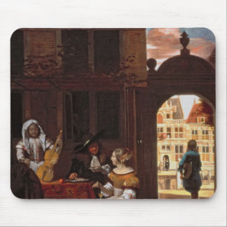 A Musical Party, 1677 Mouse Pad