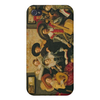 A Musical Party, c.1625 iPhone 4 Covers
