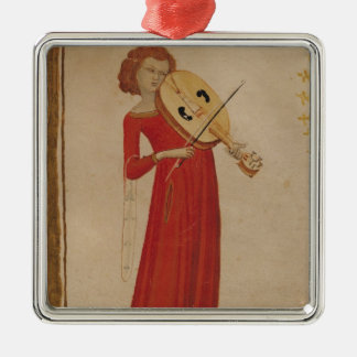 A Musician, from 'De Musica' by Boethius Christmas Ornament