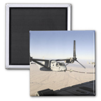 A MV-22 Osprey refuels midflight Magnet