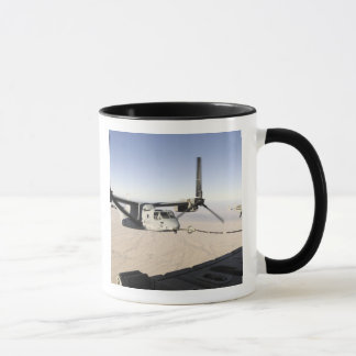 A MV-22 Osprey refuels midflight Mug