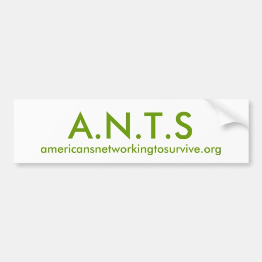 A.N.T.S BUMPER STICKER