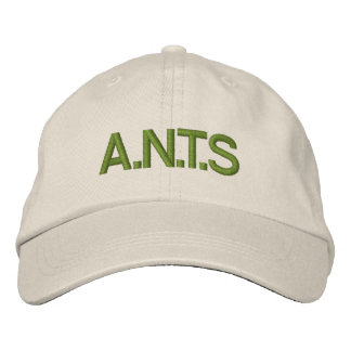 A.N.T.S EMBROIDERED HAT