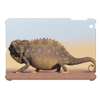 A Namaqua Chameleon walking across a sandy plain iPad Mini Case