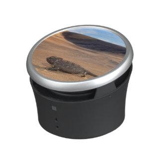 A Namaqua Chameleon walking Bluetooth Speaker