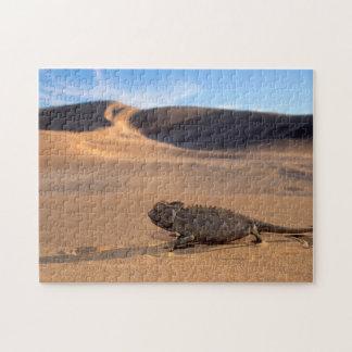 A Namaqua Chameleon walking Jigsaw Puzzle