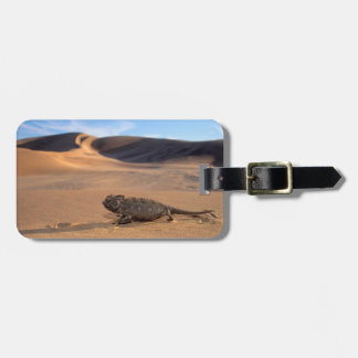A Namaqua Chameleon walking Luggage Tag