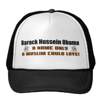 A Name Only A Muslim Could Love! Trucker Hats