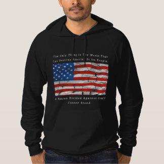 A Nation Divided (FRONT & BACK design) Hoodie