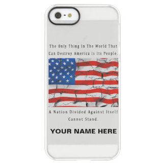 A Nation Divided Permafrost® iPhone SE/5/5s Case