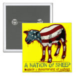 A Nation of Sheep Button Button