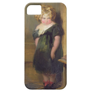 A Naughty Child (oil on canvas) iPhone 5 Cases