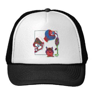 A Neon Doodle Hat