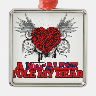 A Nepalese Stole my Heart Christmas Ornament