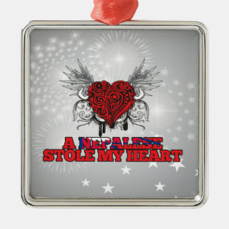 A Nepalese Stole my Heart Christmas Tree Ornament