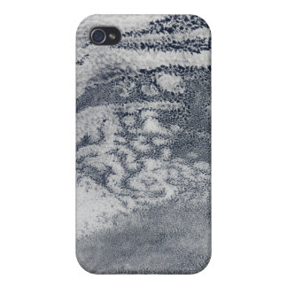 A network of clouds over the Pacific Ocean iPhone 4/4S Cases