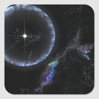 A Neutron star SGR 1806-20 Square Sticker