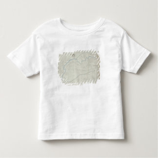 A New and Correct Map of Hackney Marsh, 1745 (lith Toddler T-Shirt