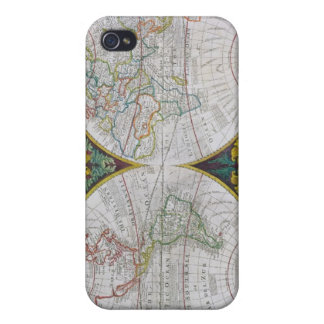 A New and Correct Map of the World, 1770-97 iPhone 4/4S Covers
