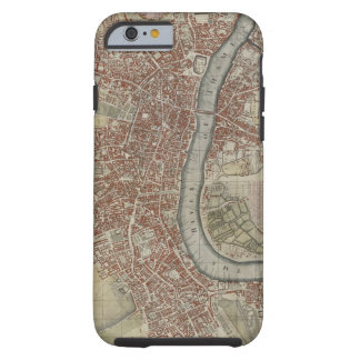 A New and Exact Plan of the Cities of London and W Tough iPhone 6 Case