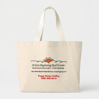 A New Beginning Real Estate Tote Bags
