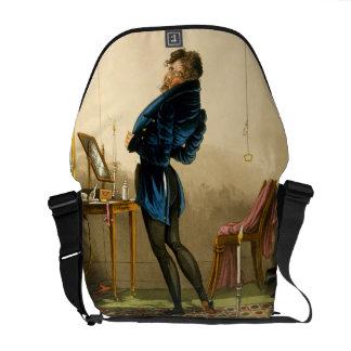 A New Coat (colour litho) Messenger Bag