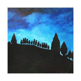 A New Dawn Rising 2008 Canvas Print