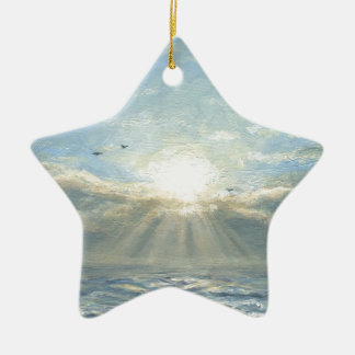 A New Day Ceramic Star Decoration