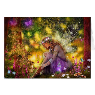 A New Freindship Fantasy Fairy Card