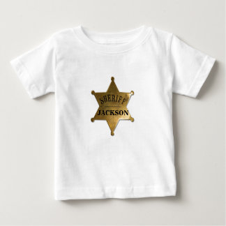 A New Lil' Sherriff in Town Baby T-Shirt