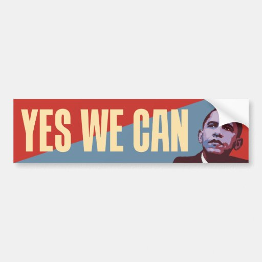 A New Majority - Obama Political Bumper Sticker