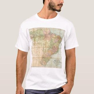 A new map of Brazil T-Shirt