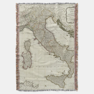 A new map of Italy with the islands of Sicily
