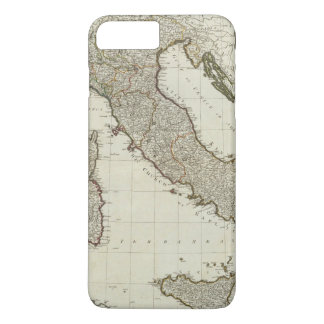 A new map of Italy with the islands of Sicily iPhone 8 Plus/7 Plus Case