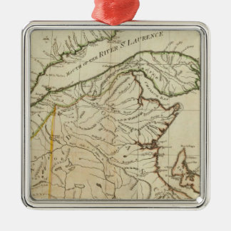A New Map of Nova Scotia, and Cape Breton Island Christmas Ornament