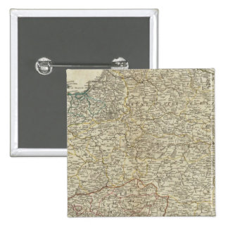 A new map of the Kingdom of Poland 15 Cm Square Badge