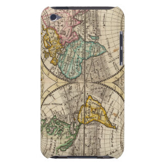 A new map of the whole world with trade winds iPod touch cover