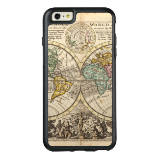A new map of the whole world with trade winds OtterBox iPhone 6/6s plus case