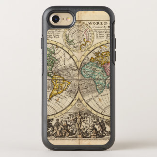 A new map of the whole world with trade winds OtterBox symmetry iPhone 7 case