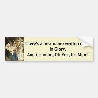 A New Name In Glory Bumper Sticker
