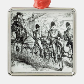 A New way to travel to Brighton, 1864 Christmas Ornament