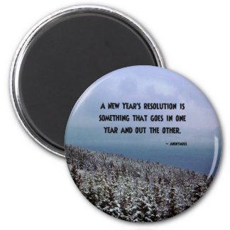 A New Year's Resolution... Magnet