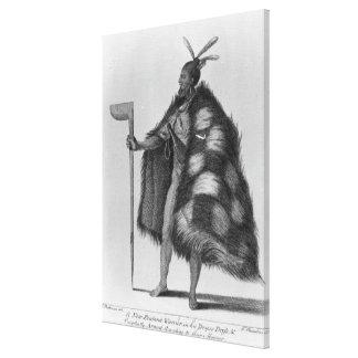 A New Zealand warrior Canvas Print